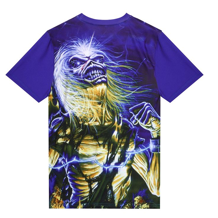 Happiness Plum Iron Maiden T Shirt 3D T shirt Eddie Iron Man T Shirt Men Woman. Click visit to buy #TShirt