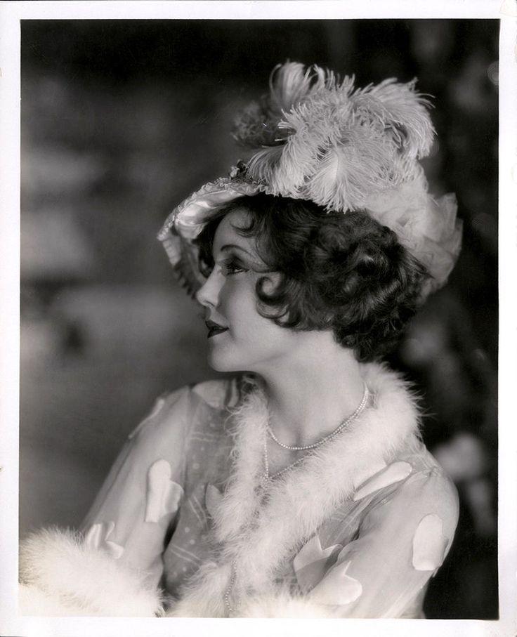 Whimsical '20s Photograph Flapper Nancy Carroll Models Vintage 1900s Hat Fashion