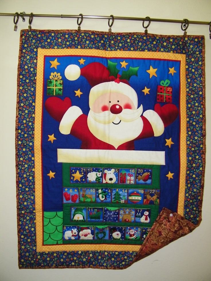 20 Best Images About Quilted Advent Calendar On Pinterest