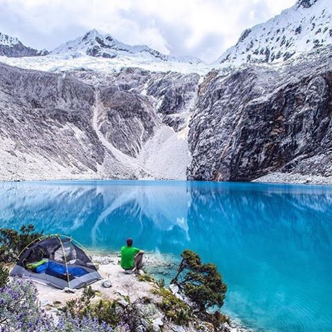 Laguna 69, Peru - Photography by © @moonmountainman. #OurPlanetDaily