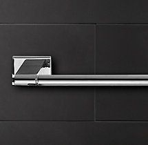 Modern Towel Bar - Restoration Hardware