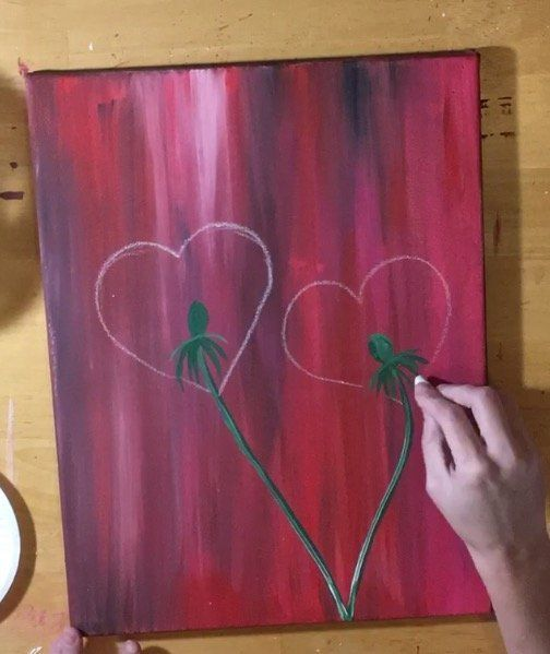 valentines day archives step by step painting - 504×599