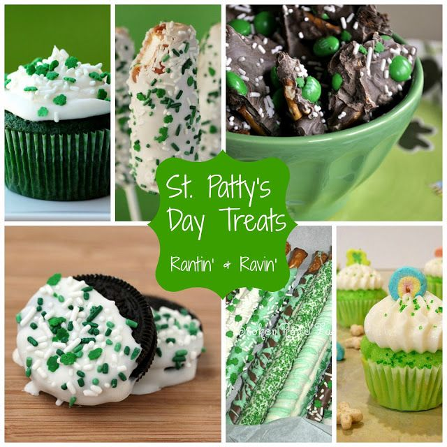 ST. PATTY'S DAY TREATS!!!