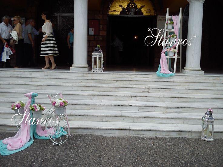 #pastel#baptism#decoration#hyndrangeas
