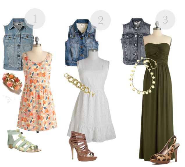 16 best Outfit chaleco vaquero images on Pinterest | Feminine fashion Cowboys and Casual wear