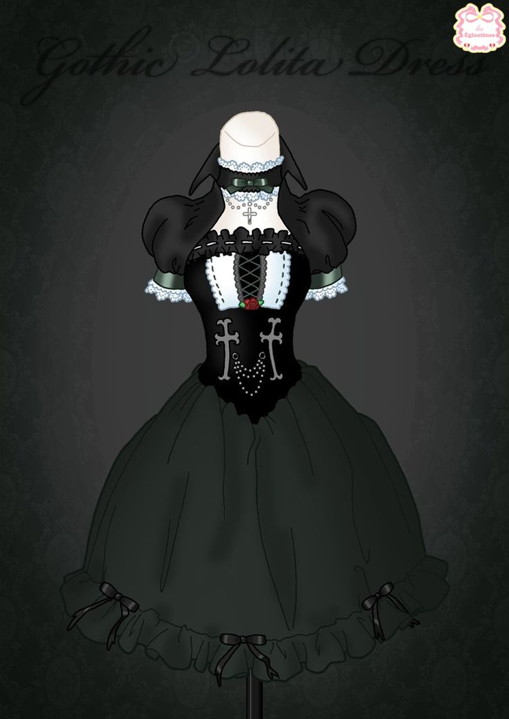 Gothic Lolita Dress by Neko-Vi on DeviantArt