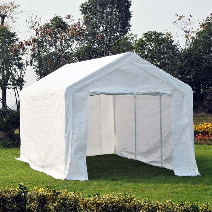 20'x10' Convertible Carport Party Tent Canopy Gazebo