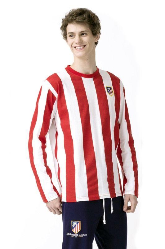 Pijama del ATLÉTICO DE MADRID hombre. Producto con licencia oficial, no es una copia. 100% Algodón. Envío en 24/48h. Más equipos en varelaintimo.com