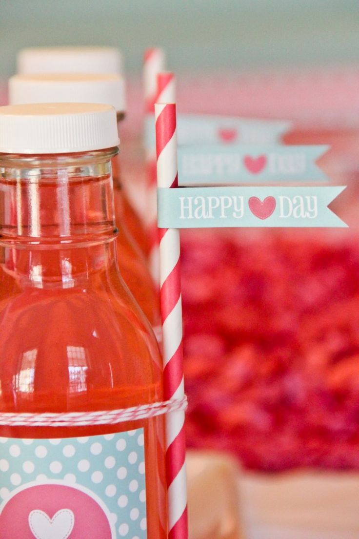 Adorable Valentine's Day party ideas <3