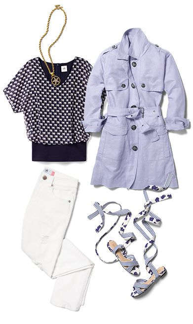 Check out five unique ways to mix and match the Parade Blouse with other cabi items!