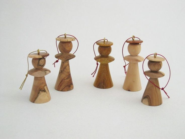 Turn an Angel Ornament (With images)   Wood turning, Wood ...