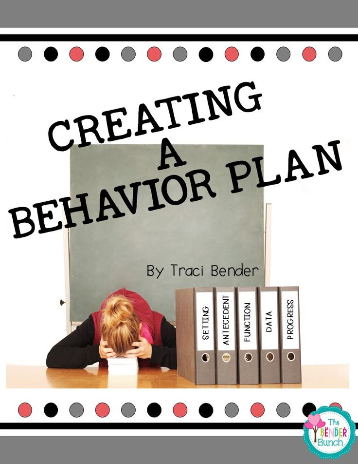 special education, behavior, behavior plans, BIPs, writing a behavior plan