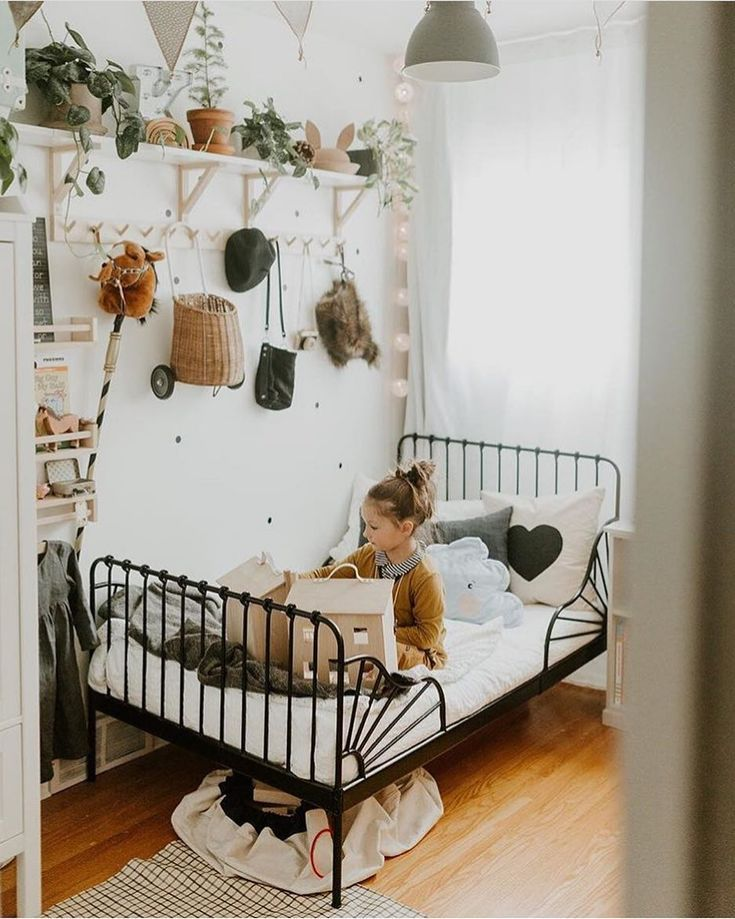 We Love This Vintage Inspired Bedroom With Its Natural Tones And Classical Decor Vintage Inspired Bedroom Girl Room Kid Room Decor