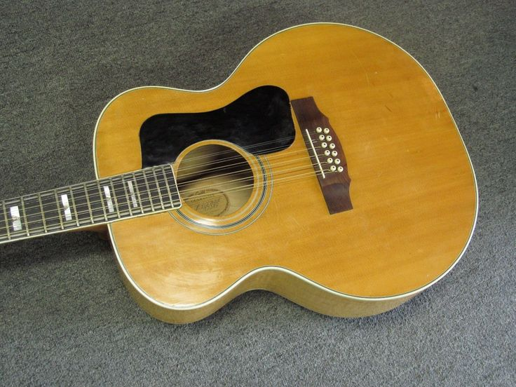 Guild F-412 12 String Jumbo Acoustic Guitar Vintage 1976 Made in USA!!! | eBay