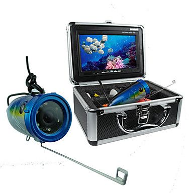 New 600TVL Color Underwater Video Camera Fishing Camera System with 30m Cable - USD $ 189.99