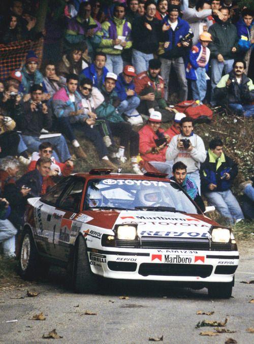 Carlos Sainz Luis Moya - Toyota Celica