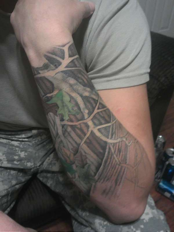 deer hunting tattoo sleeve - Google Search