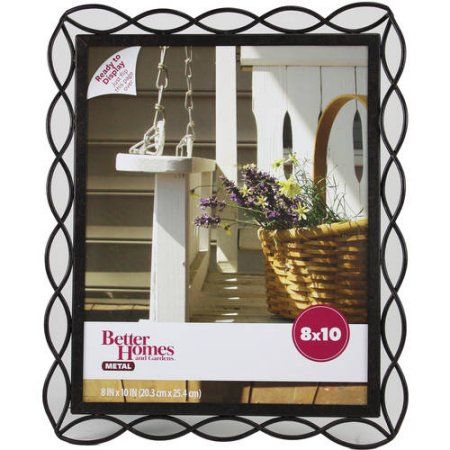 Better Homes and Gardens 8x10 Photo Frame, Tuscan Bronze Finish, Brown