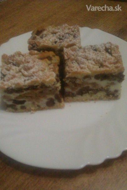 Strúhaný tvarohovo-jablkový koláč (fotorecept) veľmi dobrý - nechať trochu…