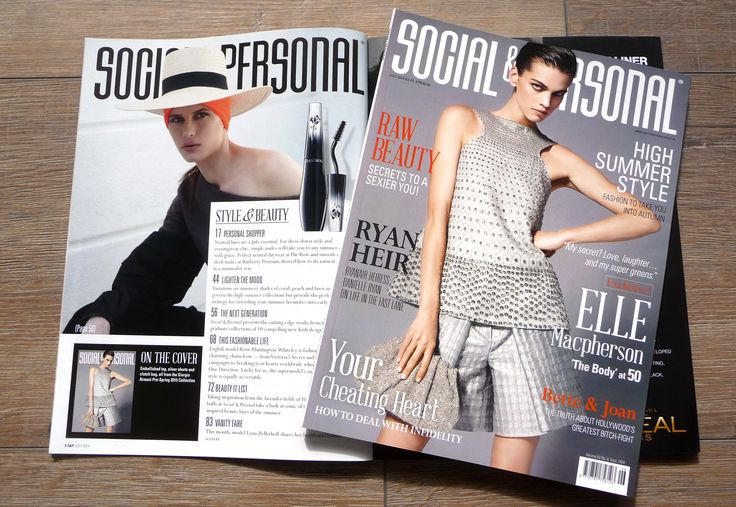 Social & Personal Editorial 2014 + Cover
