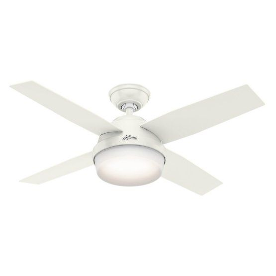 Hunter Dempsey 44 in. Indoor Ceiling Fan with Light and Remote