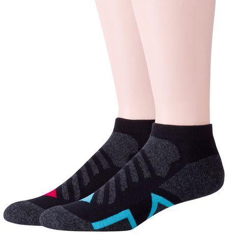 Peds Coolmax Men's Active Low Cut Socks - Pack of 2 Sizes 7-11 #