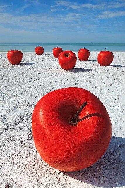 Apples. S) original landscape