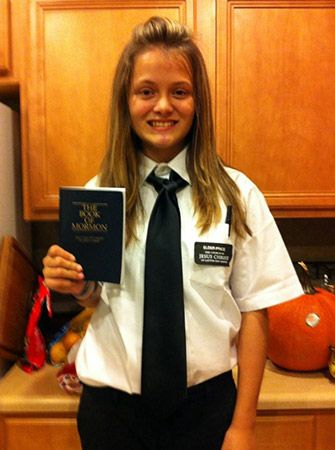 """Bailey Grey-Shepherd  is going to be """"Elder Price"""" from The Book of Mormon."""