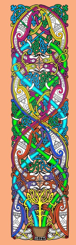 Celtic Art.  Reminds me of you!  Beautiful.
