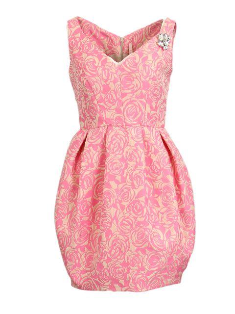 Roze jurk - Korte jurken - BoBo Tremelo