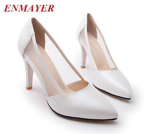 Cheap Pumps, Buy Directly from China Suppliers:         ENMAYER New 2014 Fashion  Leather MOTORCYCLE Boots Women Flats Winter Rain boot Knee-hi