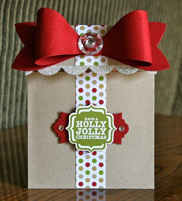 Stampin' Up! Christmas by Krystal's Cards and More: Gift Bow Christmas