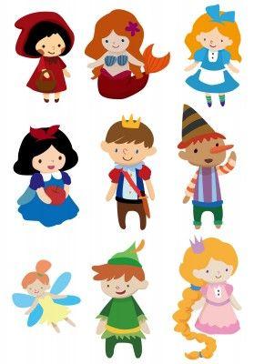 9 best characters images on pinterest clip art fairytale rh pinterest com Fairy Tale Clip Art Teachers Large Fairy Tale Clip Art