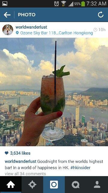 Tallest Bar in HK