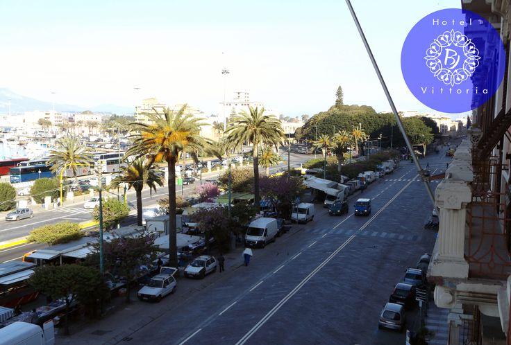 http://www.hotelbjvittoria.it   #vista #Cagliari #Sardegna