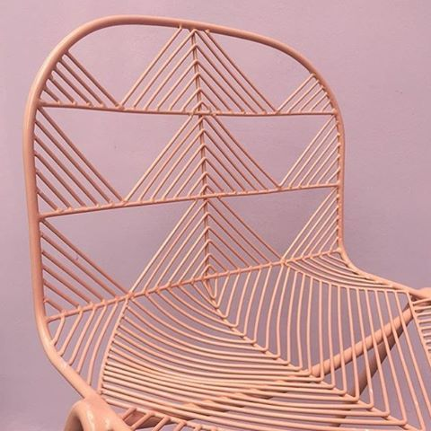 Ooh Betty! Peachy keen chair by LA's Bend at London Design Fair, running until