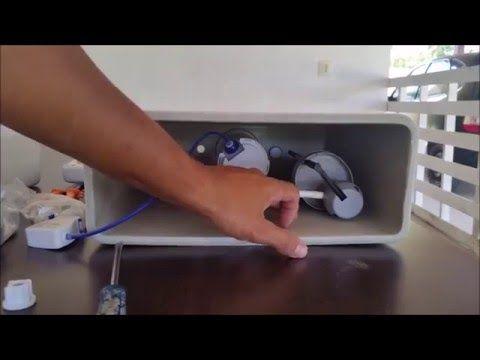 Substituição da Torre de Entrada (Caixa Acoplada DECA) - YouTube