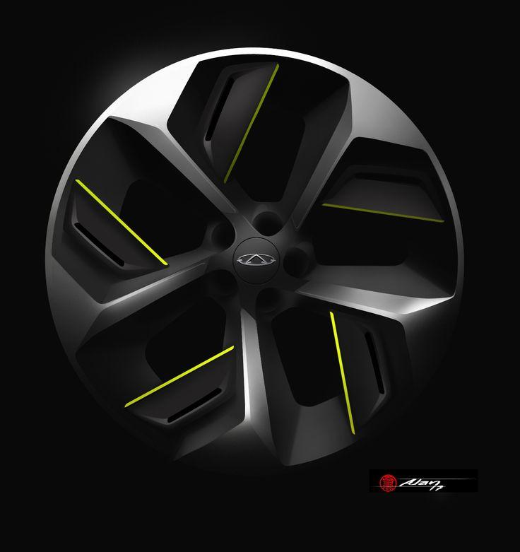 Alan Derosier - 2017 Chery Tiggo Coupe Concept