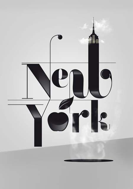 50 Outstanding Examples Of Big Typography Art in Poster Designs