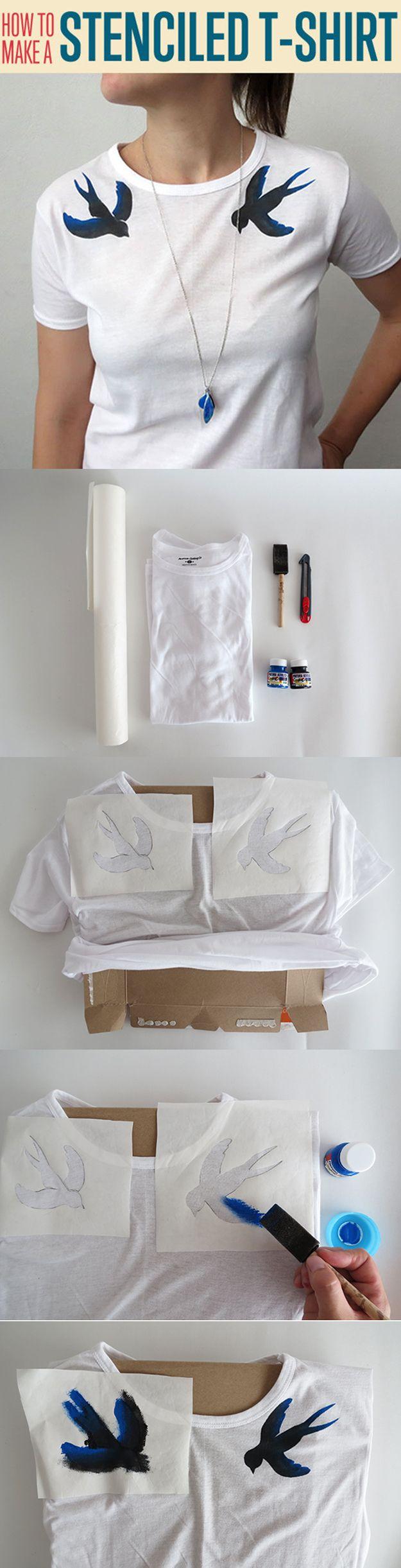 Camisa estarcida