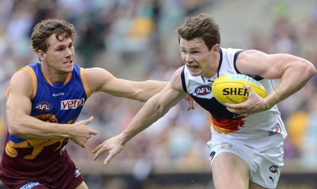 Crows down Lions in the wet - AFL.com.au