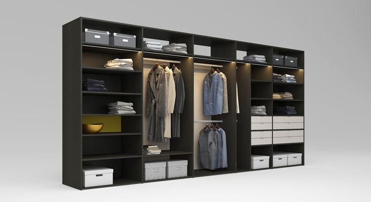 Skvěle zařízená šatna   Vaše každodenní garderoba i sezónní věci si zaslouží krásné a především organizované místo. Šatnu, která bude rozvržena dle ergonomických zásad a bude skvěle vypadat, vám budou všichni závidět! Prohlédněte si i další varianty šaten a úložných systémů.