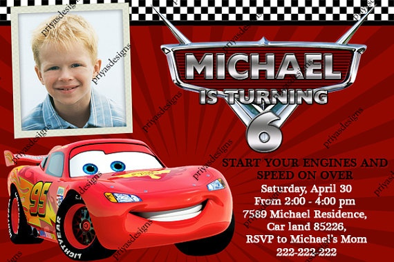 Disney CARS Lightning McQueen Cars Birthday by creativeinvitation, $12.00: Lightning Mcqueen, Birthday Party Invitations, Cars Birthday Invitations, Cars Lightning, Car Birthday, Birthdays, Cars Birthday Parties, Disney Cars, Party Ideas