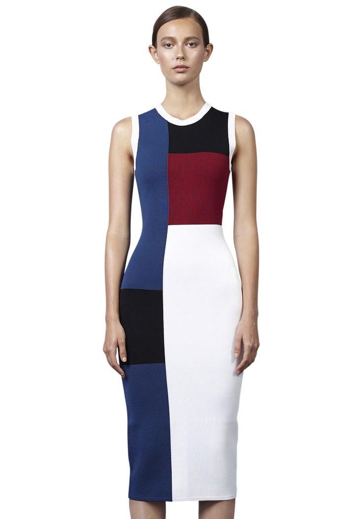 MARINE MIXER DRESS | #FRAMEWORK #BYJOHNNY #WINTER2016 #AUSTRALIANFASHION