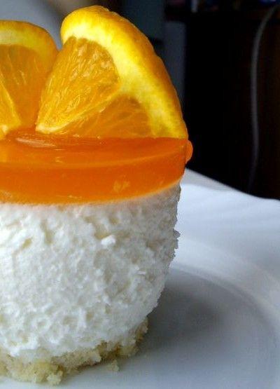 Orange Cream Cheese Mousse | Scrumptious Desserts | Pinterest