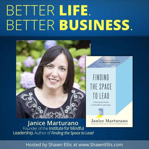 """""""If you're like most of us, you probably take pride in your ability to multitask, to be incredibly efficient by simultaneously listening to a conference call, writing a few e-mails, and eating your salad at your desk,"""" writes Janice Marturano in her new book, Finding the Space to Lead: A Practical Guide to Mindful Leadership. If that sounds familiar to you, then check out this interview with Janice and learn how to find some space in your life - just as it is - today."""