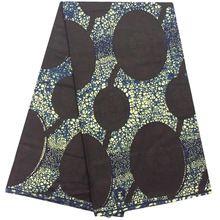 Venda quente Africano cera real tecido de algodão batik Holland cera super tecido para o vestido de 6 Metros de Algodão ancara tecido estampado de cera africano(China (Mainland))
