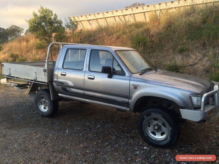 1994 Toyota Hilux Ute 2.4L Petrol 4x4 #toyota #hilux #forsale #australia