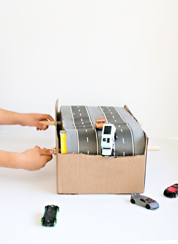 hello, Wonderful - 15 CRAFTY WAYS TO RECYCLE LEFTOVER CARDBOARD BOXES