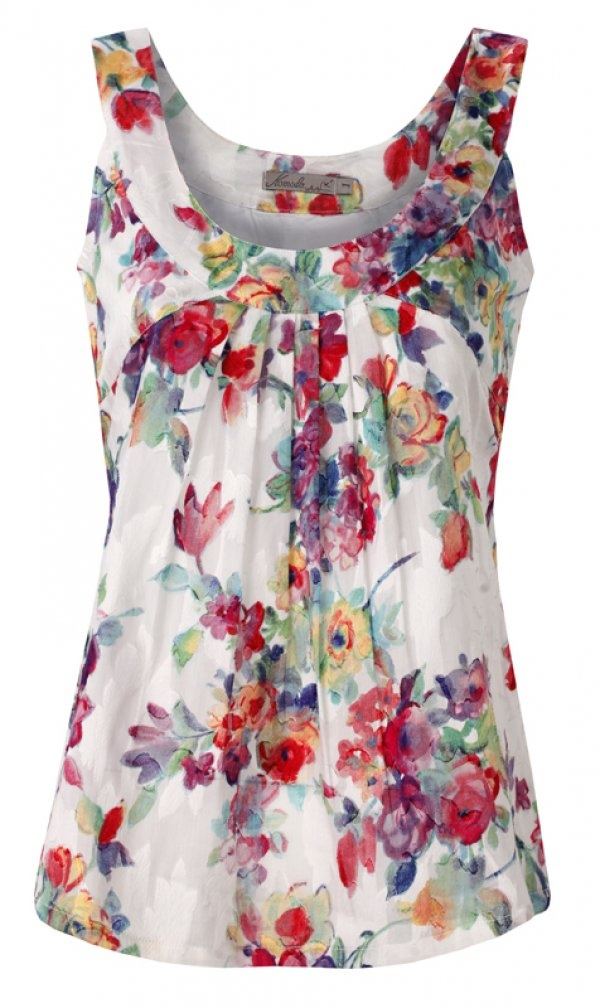 Floral Print Top 'Oasis' by Komodo, €75